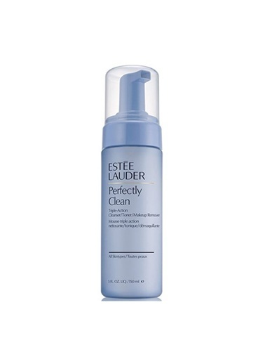 Estée Lauder Estã©E Lauder Perfectly Clean Triple Action Makeup Remover 150 Ml 3Ü 1 Arada Renk Eşitleyici Ve Köpük Temizleyici Renksiz